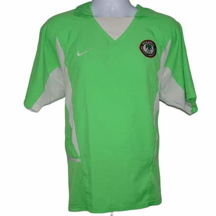 2002-2004 Nigeria Home Football Shirt Nike Large (Excellent Condition)